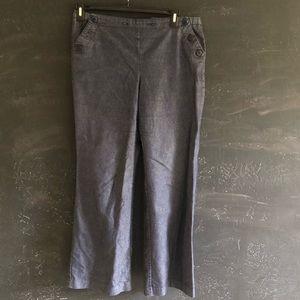 90's Vintage Express Sailor Jeans Size 13/14